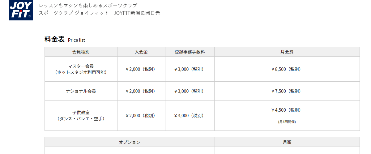 JOYFIT 新潟長岡日赤の画像3